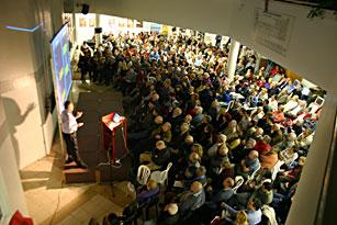 בהרצאה לקהל הרחב של פרופ' חיים הררי